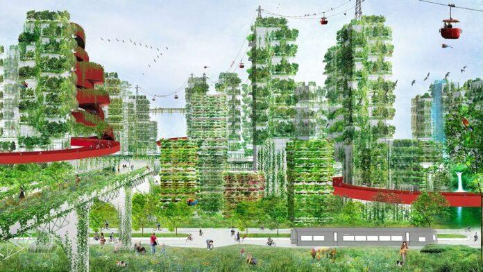 Χτίζοντας πόλεις με δέντρα